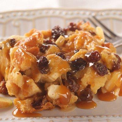 Pudìn de Pan con Manzanas (Capirotada con Manzanas)
