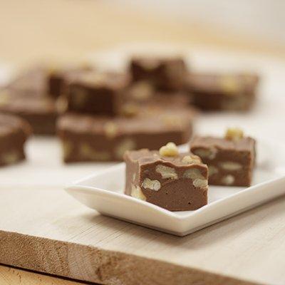 "Famoso ""Fudge"" de Chocolate de Leche"