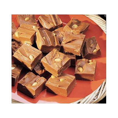 """""""Fudge"""" de Chocolate y Cacahuates"""