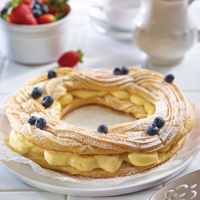 Almond Custard-Filled Pastry Ring