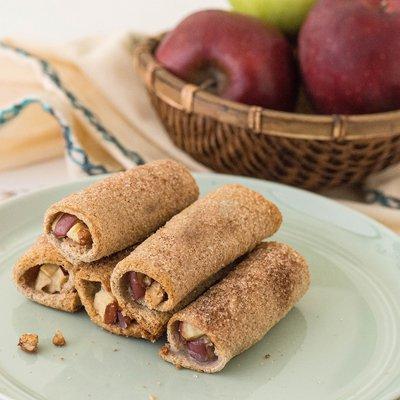 Creamy Apple Pie Roll Ups