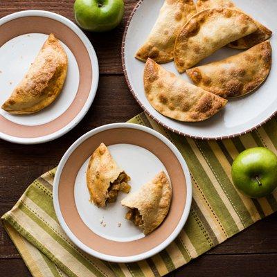Empanadas de Dulce de Leche y Manzanas