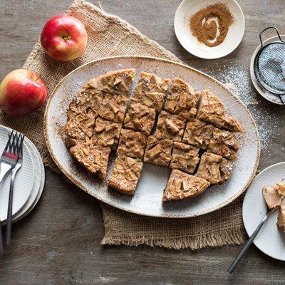 Pastel de Manzana y Especias en Olla de Cocción Lenta