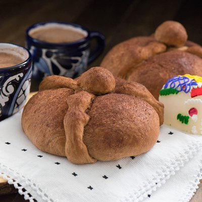Abuelita Day of the Dead Bread