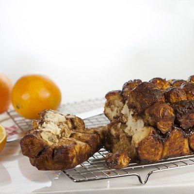 Chocolate Orange Monkey Bread Loaf