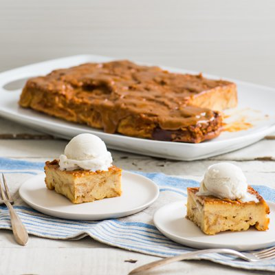 Tres Leches Bread Pudding