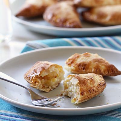 Creamy Pineapple & Coconut Empanadas