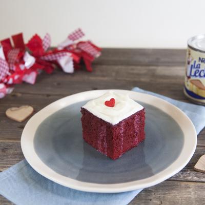 Easy Red Velvet Poke Cake with Cream Cheese Frosting