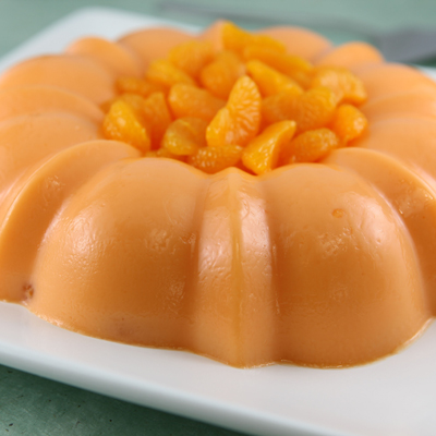 Gelatina de La Lechera y Naranja