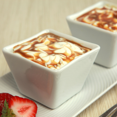 Dulce de Leche Swirled Cheesecake Dessert