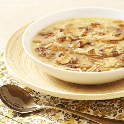 Sopa Rapida y Fácil de Hongos y Cebolla