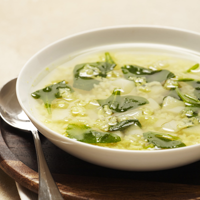 Quick and Easy Spinach and Potato Soup