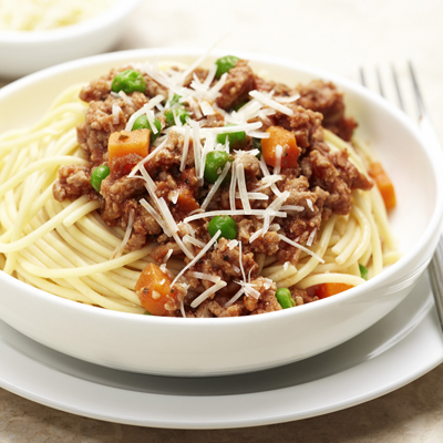 Turkey Bolognese with Vegetables