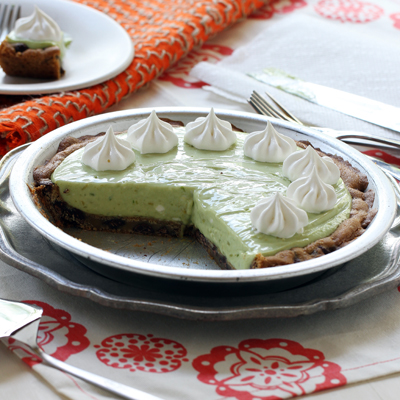 Green Monster Avocado Pie