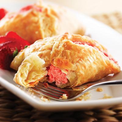 Strawberry and Cream Empanadas