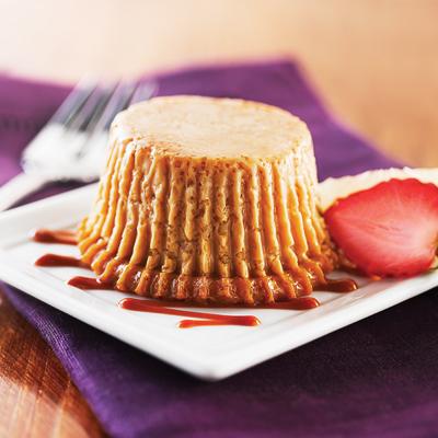 Cupcakes de Flan de Café
