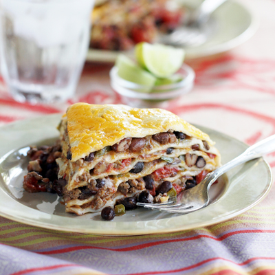 Enchiladas en La Olla de Coccion Lenta