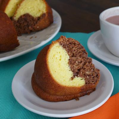 Choco-Vanilla Abuelita Cake
