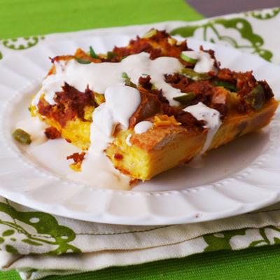 Cacerola de Chorizo para el Almuerzo
