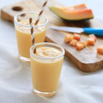 Papaya Pineapple Smoothie