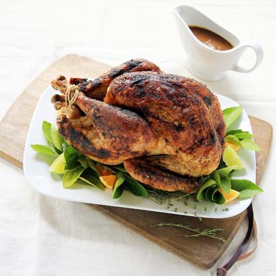 Latin Turkey Rub and Gravy