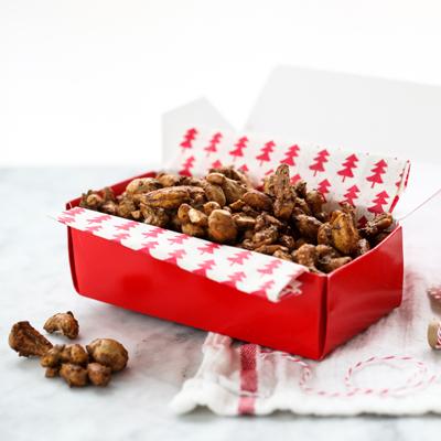 Dulce de Moca con Cacahuetes y Marañónes