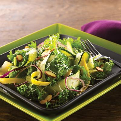 Zucchini & Squash Ribbon Salad