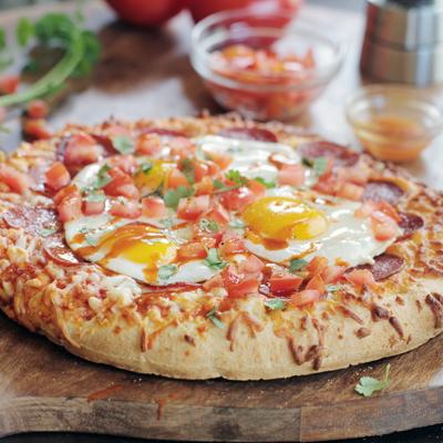 Huevos Rancheros Pizza