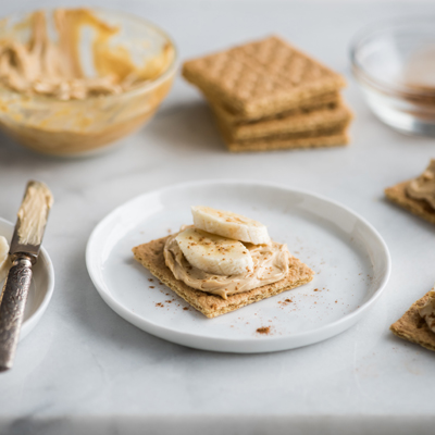 No Bake Dulce de Leche Cheesecake Snacks