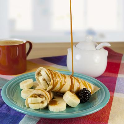Dulce de Leche Banana Nut Crêpe