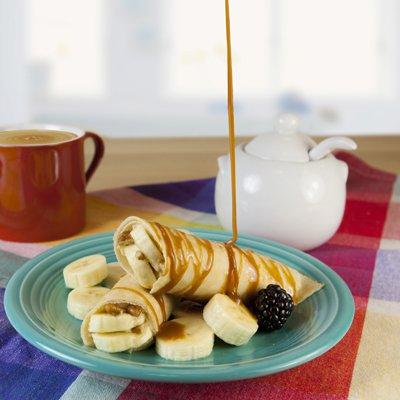 Crepa de Dulce de Leche con Plátano y Nuez