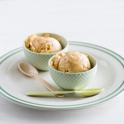 Instant Banana Dulce de Leche Ice Cream