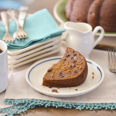 Dulce de Leche and Coffee Cake