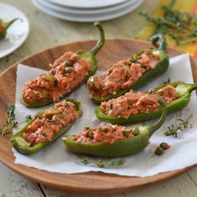 Tuna Chile Rellenos