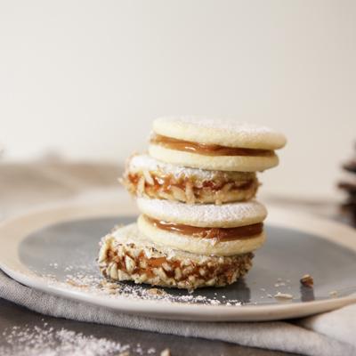 South American Sandwich Cookies (Alfajores)