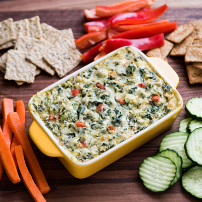 Spicy Spinach Dip