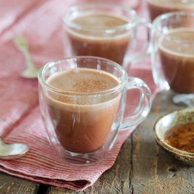 Chocolate Caliente Rico y Cremoso