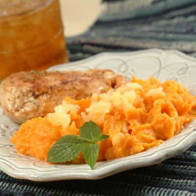 Sweet Potato and Pineapple Puree