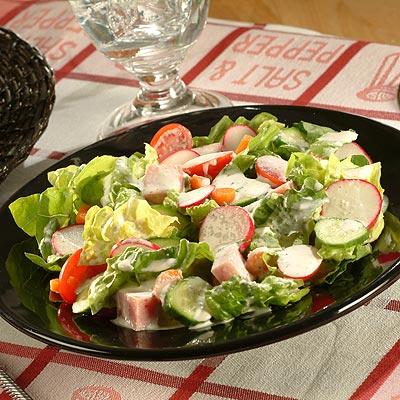 Creamy Parmesan Salad Dressing