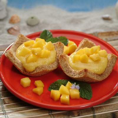 Quick and Easy Sweet Mango Dessert