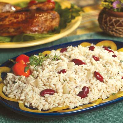 Maggi Rice and Beans