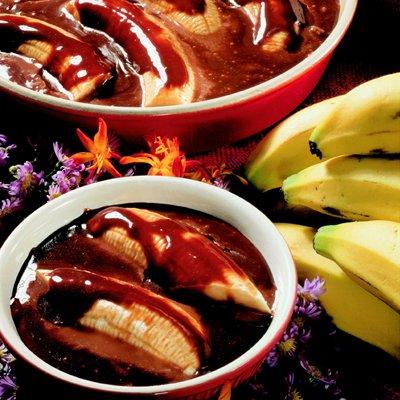 Plátanos Enchocolatados Abuelita