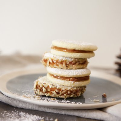 South American Sandwich Cookies (Alfajores)