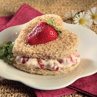 Sweetheart Sandwiches