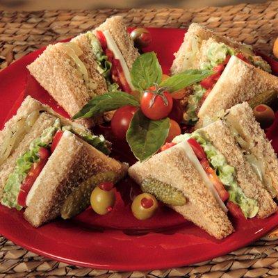Club Sándwich de Vegetales