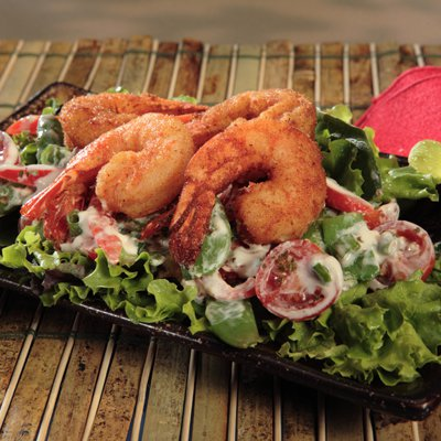 Sugar Snap Peas and Shrimp Salad