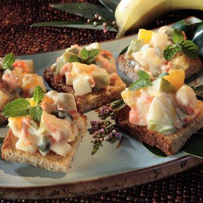 Fruit Salad Canapés