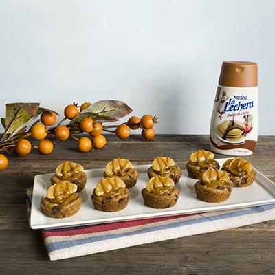 Dulce de Leche Tangerine Cookie Cups