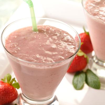 Strawberry Swirl Smoothie