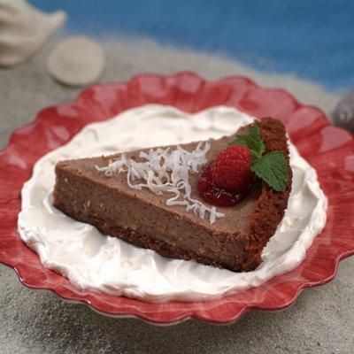 Choco-Coconut Pie